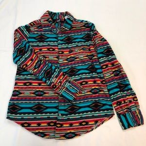 Colorful Native Print BDG flannel